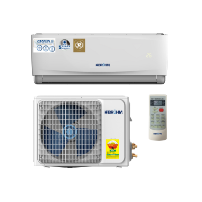 BRUHM 2.5HP SPLIT AIR CONDITION BAS-24CCFW – VITAMIN C