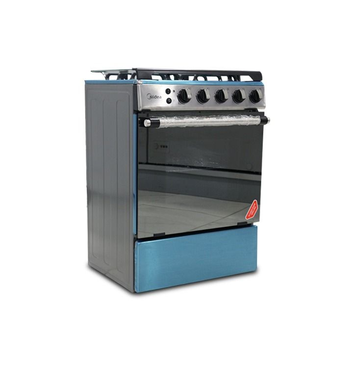 Midea 60×60 gas cooker with oven and grill 24LMG4G027