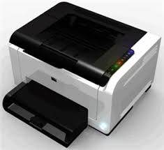 p laserjet pro color printer CP1025 top view