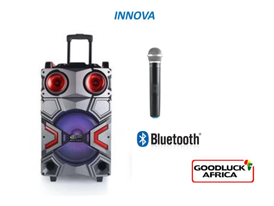 HEAVY DUTY TROLLEY SPEAKER Innova Wireless bluetooth