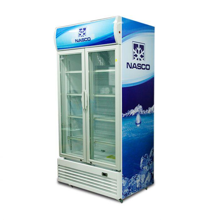 Nasco display fridge 750 Ltr glass door