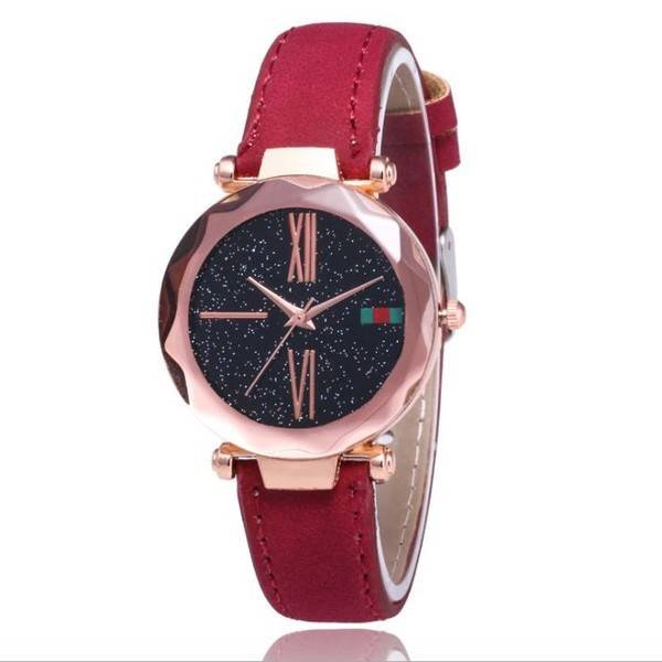 Luxury Ladies Watch Star Sky Diamond Dial Women Bracelet