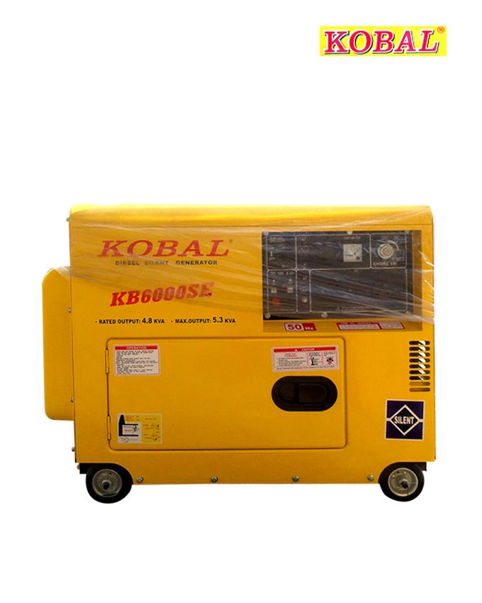 KOBAL KB6000SE Silent Diesel Generator – 4.8KVA