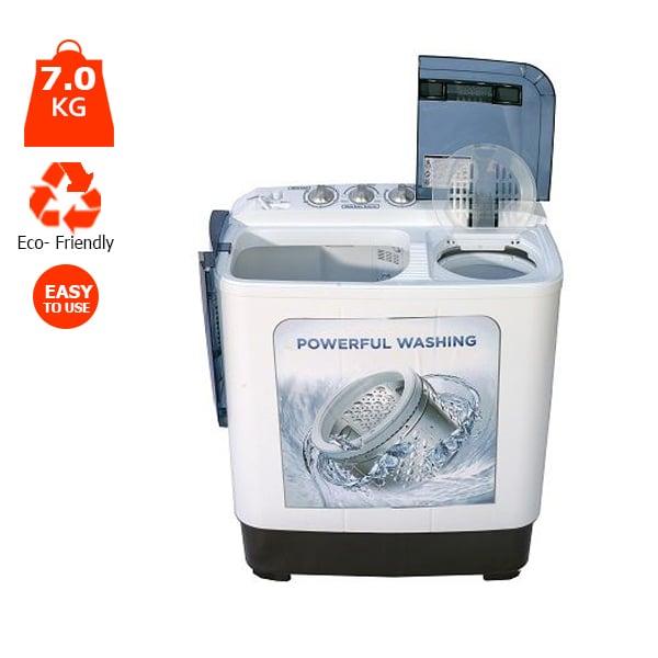 Protech Twin Tub 7kg Washing Machine