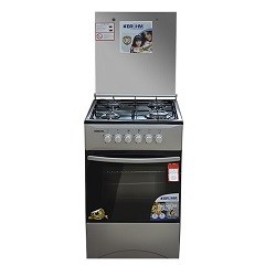 Bruhm 4 burner gas cooker with oven