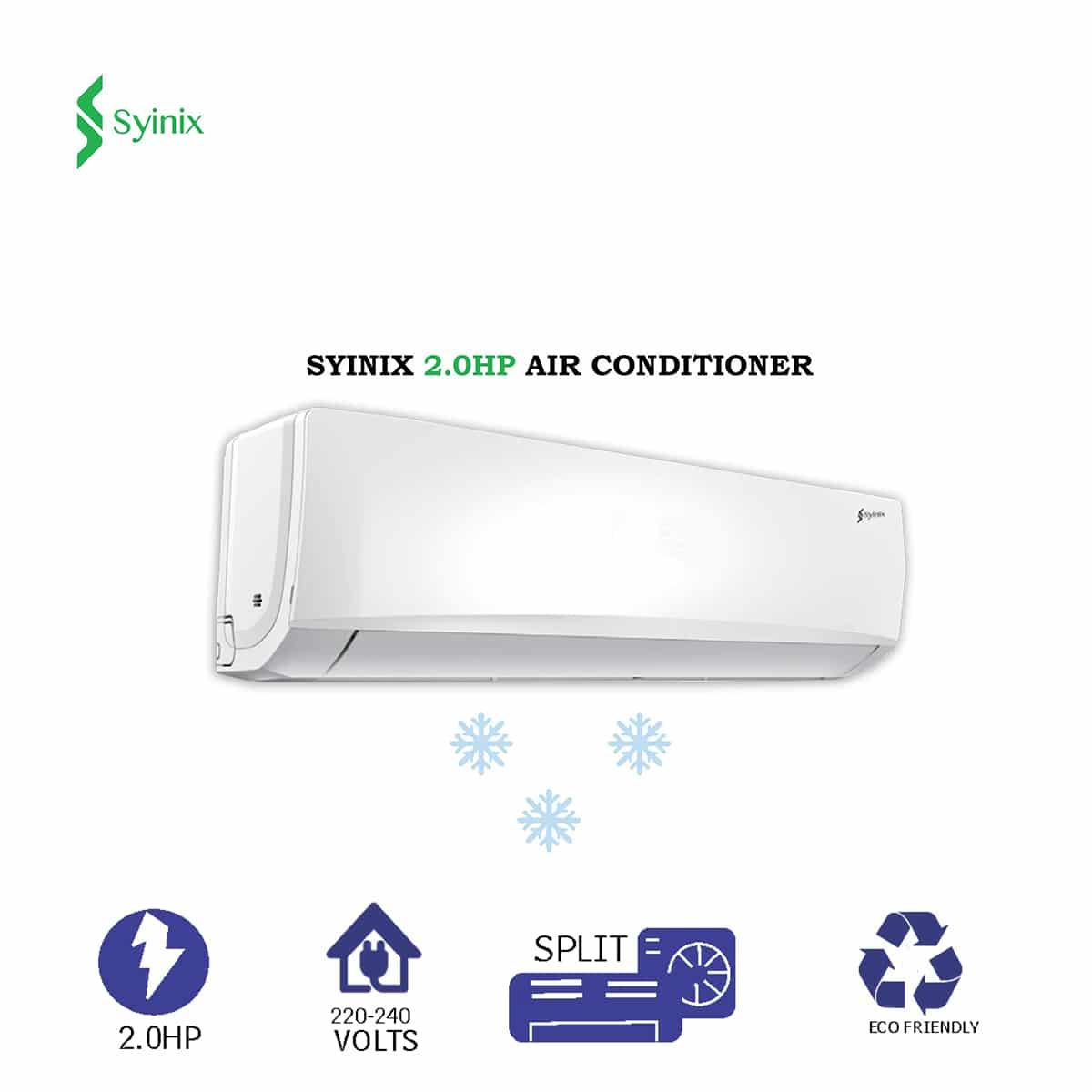 Syinix 2.0 hp Split Air Conditioner ACS12C03T