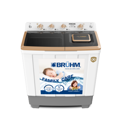 Bruhm 11kg semi automatic washing machine – BWT-110H