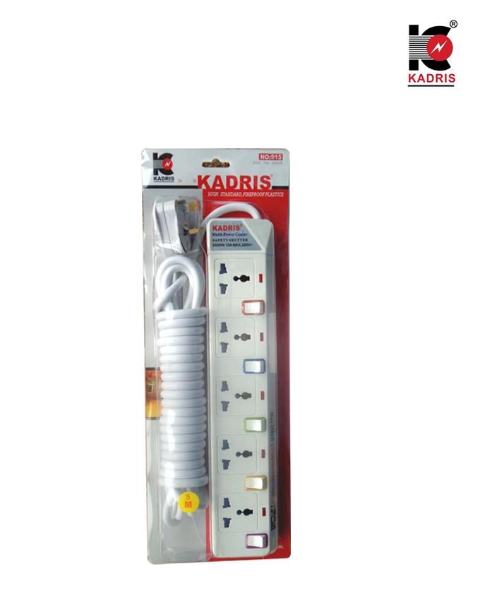 Kadris Multi Socket – 5 ports
