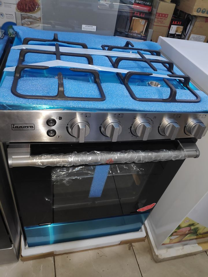 Innova gas cooker 60×60 oven and grill1