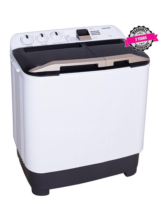 Toshiba 12KG Twin tub Washing Machine (VH-J130WGH) 1