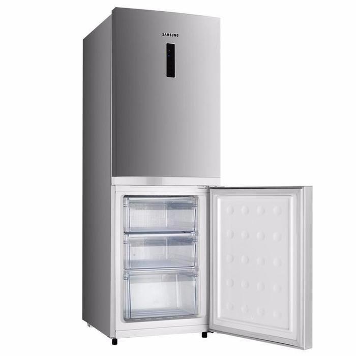 SAMSUNG 270LTR Double Door Bottom Freezer – RB33N040S8