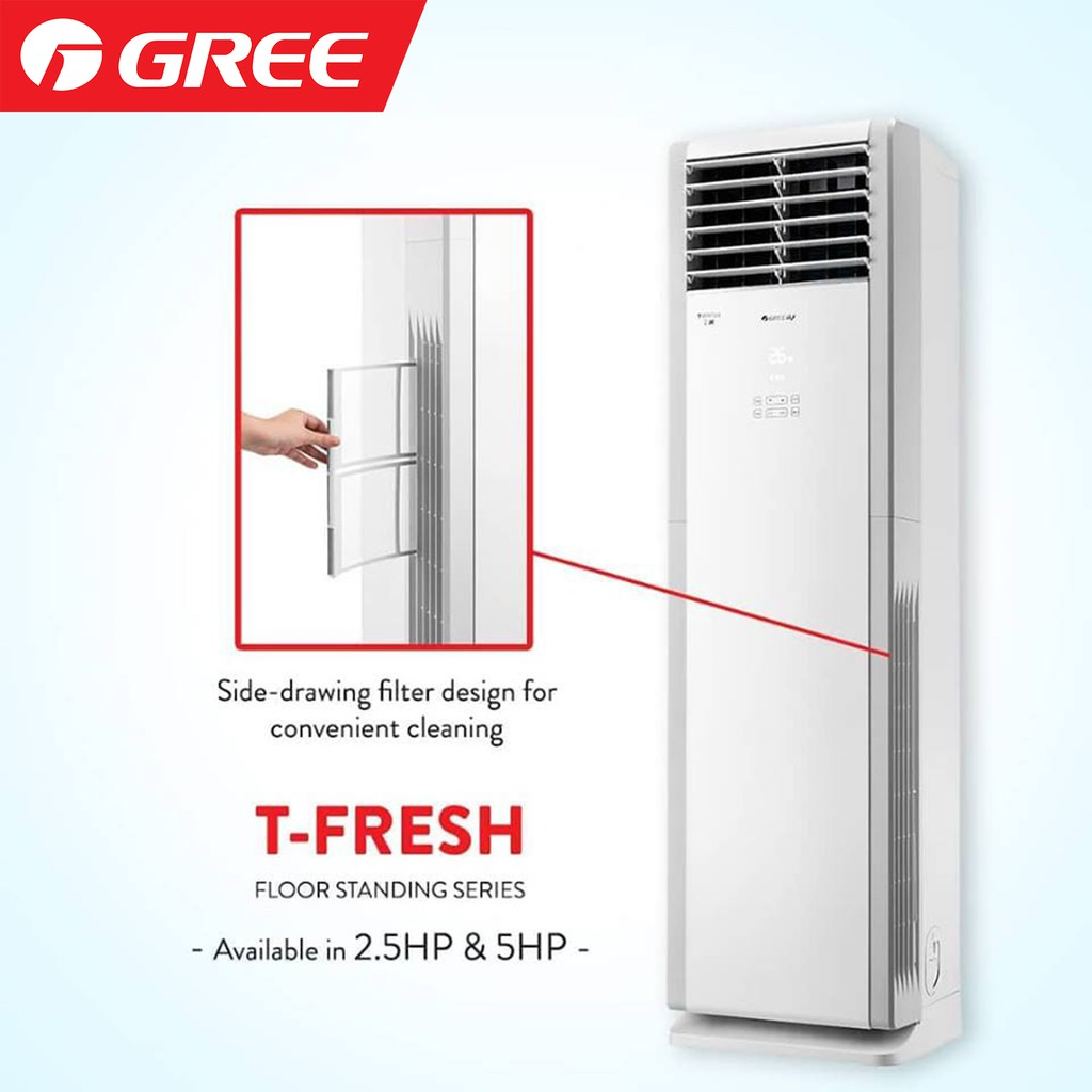 Gree Floor standing AC in Accra Ghana Goodluck Africa Ltd 5.0 Hp Air conditioner