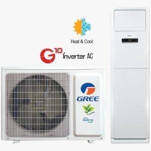 gree-2.5 hp-ton-inverter-floor-standing-ac- Goodluck Africa Ltd Osu Accra Ghana Gree Air conditioner