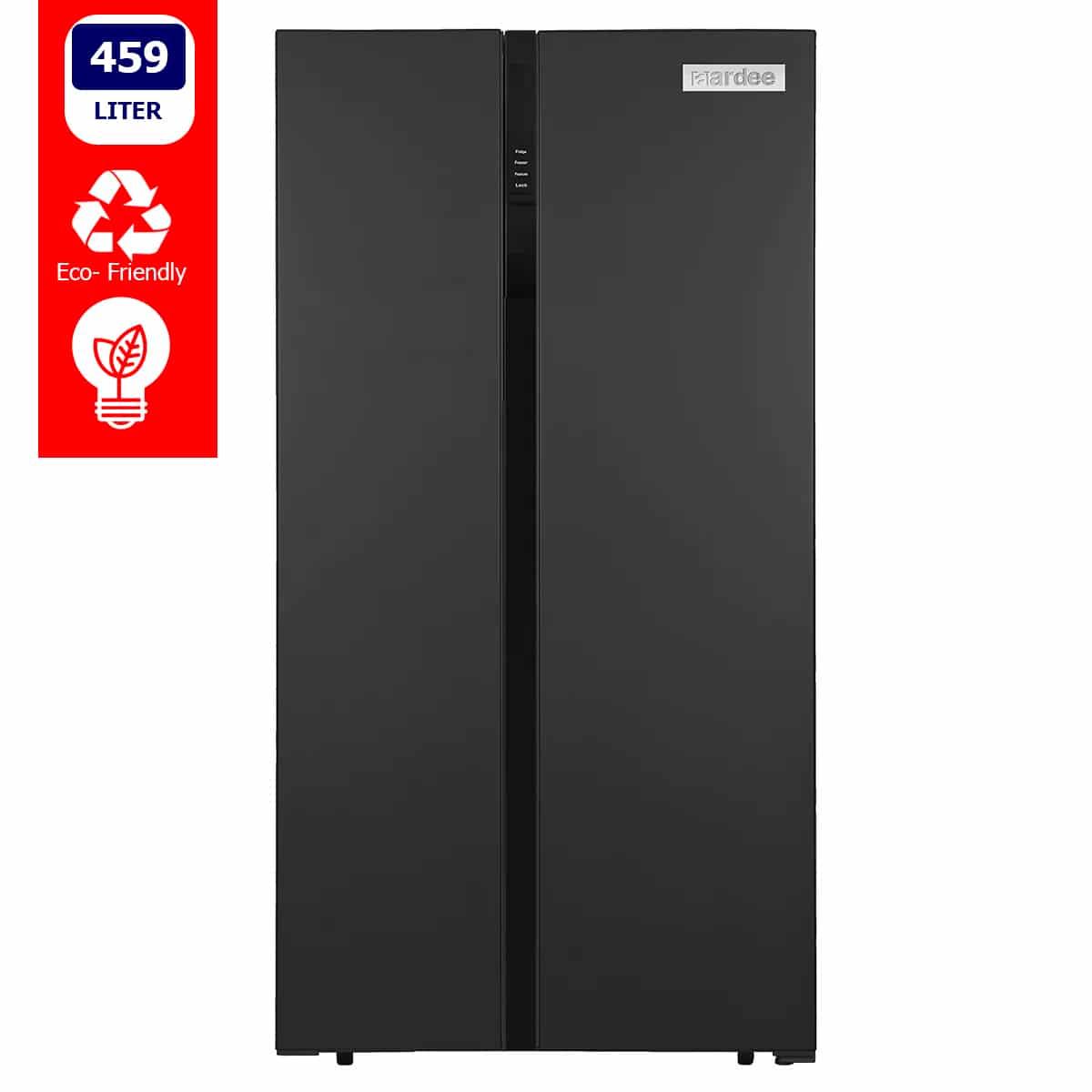 ARRFSBS-500BD-Aardee-Side-by-side-large-fridge