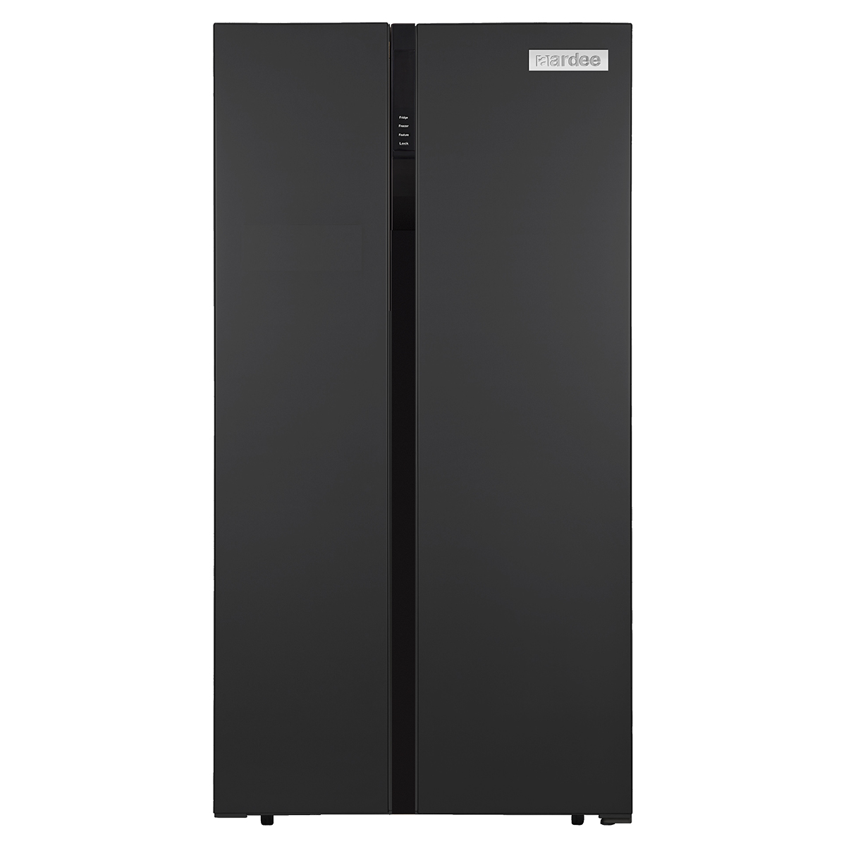 ARRFSBS-500BD Aardee Side by side large fridge