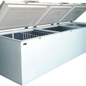 Graphic view of Legacy freezer triple door 1208 Liter