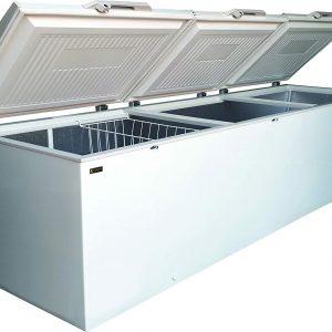 Graphic view of Legacy freezer triple door 1208 Liter