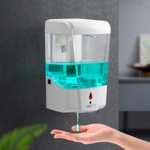 Automatic Wall mounted soap dispenser with battery