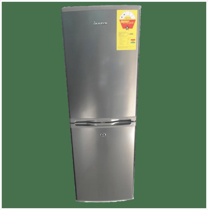 Innova I-25dd Combi Refrigerator 140L Silver