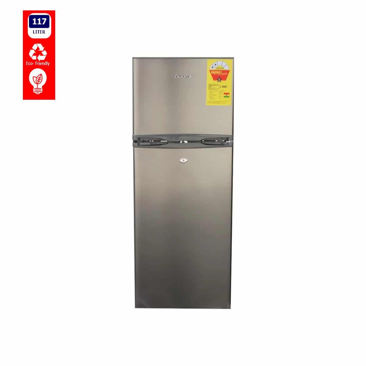 Innova-fridge-117-Liter-Top-freezer-Double-door-scaled