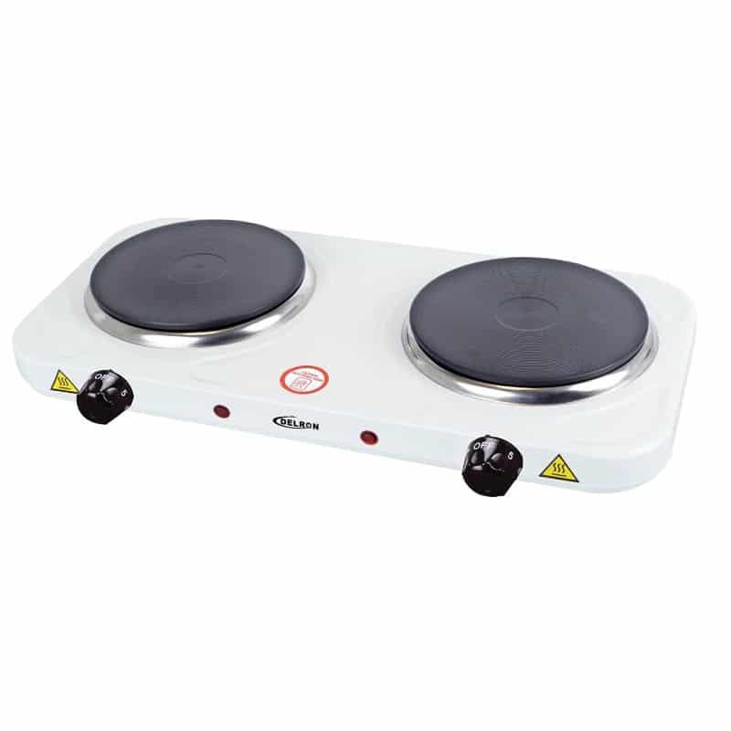 Delron 2Burner Hot Plate