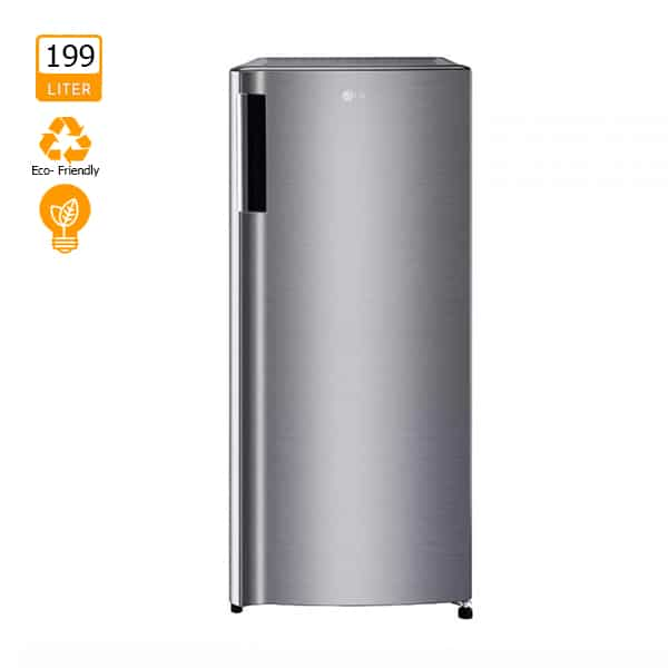 LG 199L 1-Door Refrigerator with Larger Capacity (GN-Y331SLCN
