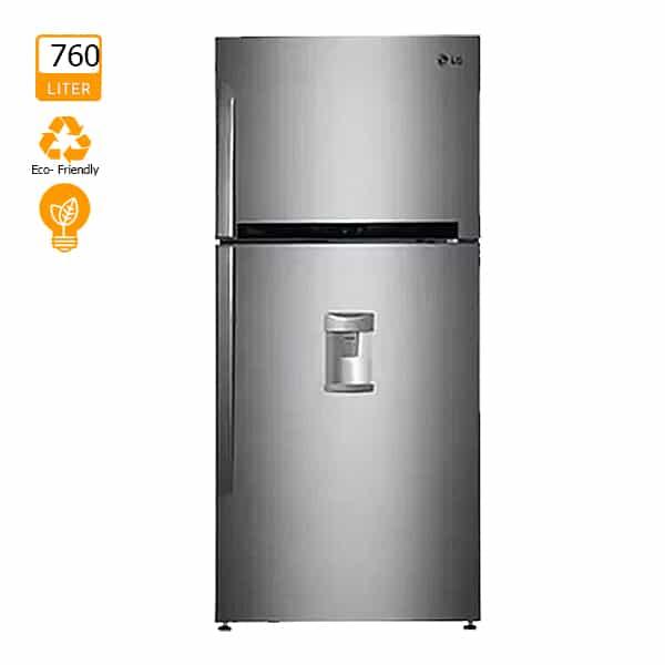 LG 760L Refrigerator Double Door with Dispenser [GRF882HLHU]