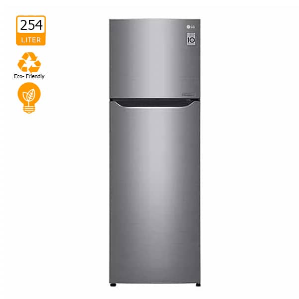 LG GN-C272SLCN 254L Top Freezer with Inverter Linear Compressor & Door Cooling